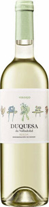 Duquesa De Valladolid Verdejo 2014, Do Rueda Bottle