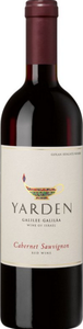 Yarden Cabernet Sauvignon 2012, Golan Heights Bottle