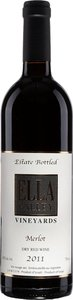 Ella Valley Vineyards Merlot 2011 Bottle
