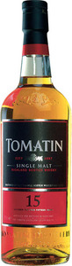 Tomatin 15 Year Old Highland Single Malt Bottle