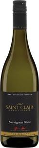 Saint Clair Marlborough Premium Sauvignon Blanc 2015 Bottle