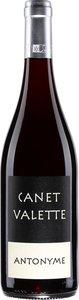 Canet Valette Antonyme 2014 Bottle