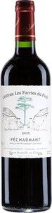 Château Les Farcies Du Pech' Pécharmant 2013 Bottle
