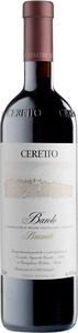 Ceretto Brunate Barolo 2009 Bottle