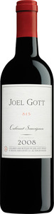 Joel Gott Zinfandel 2008, California Bottle