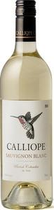 Calliope Sauvignon Blanc 2014, BC VQA British Columbia Bottle