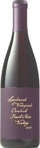Landmark Vineyards Overlook Pinot Noir 2013 Bottle