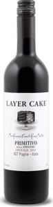 Layer Cake Primitivo 2012, Igt Puglia Bottle