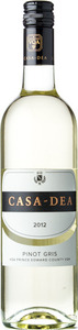 Casa Dea Estates Pinot Grigio 2014 Bottle