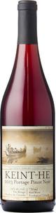Keint He Portage Pinot Noir 2014, VQA Prince Edward County Bottle