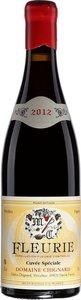 Domaine Chignard Fleurie Cuvée Spéciale Vieilles Vignes 2013, Fleurie Bottle