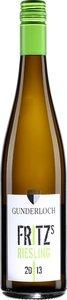 Gunderloch Fritz's Riesling 2014 Bottle