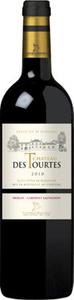 Château Des Tourtes 2012, Premières Côtes De Blaye Bottle