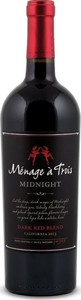 Ménage à Trois Midnight 2014, Napa Valley Bottle