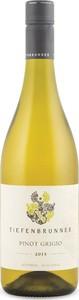 Tiefenbrunner Pinot Grigio 2015, Igt Vigneti Delle Dolomiti Bottle