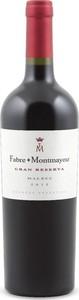 Fabre Montmayou Gran Reserva Malbec 2012, Mendoza Bottle