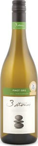 3 Stones Premium Selection Pinot Gris 2015, Marlborough, South Island Bottle