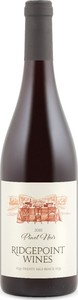 Ridgepoint Reserve Pinot Noir 2010, VQA Twenty Mile Bench Bottle