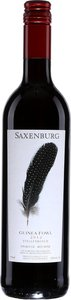 Guinea Fowl   Saxenburg Stellenbosch 2013 Bottle
