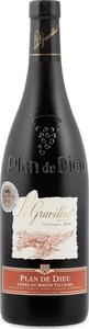 Le Gravillas Plan De Dieu Côtes Du Rhône Villages 2014 Bottle