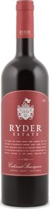 Ryder Estate Cabernet Sauvignon 2013, Central Coast Bottle