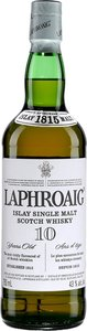 Laphroaig 10 Ans Islay Scotch Single Malt Bottle