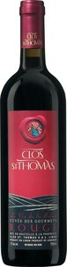 Clos St Thomas Les Gourmets 2013 Bottle