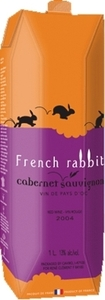 French Rabbit Cabernet Sauvignon Carton 2014, Pays D' Oc (1000ml) Bottle