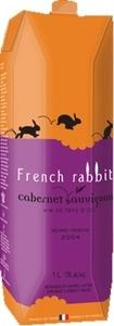 French Rabbit Cabernet Sauvignon Carton 2014, Pays D' Oc (1000ml) Bottle