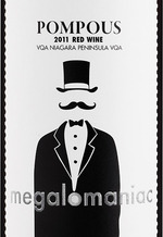 Megalomaniac Pompous Red 2013 Bottle