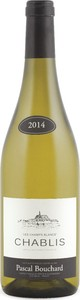 Pascal Bouchard Les Champs Blancs Chablis 2014, Ac Bottle
