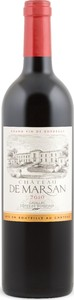 Château De Marsan 2010, Ac Côtes De Bordeaux   Cadillac Bottle
