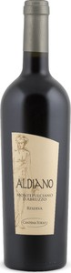 Aldiano Montepulciano D'abruzzo Riserva 2011, Doc Bottle