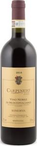 Carpineto Vino Nobile Di Montepulciano Riserva 2010, Docg Bottle