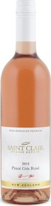 Saint Clair Family Estate Premium Pinot Gris Rosé 2015 Bottle