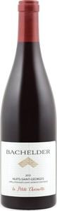 Bachelder Nuits St Georges La Petite Charmotte 2013 Bottle