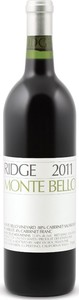 Ridge Vineyards Monte Bello 2011, Santa Cruz Mountains Bottle