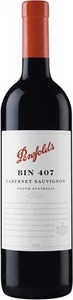 Penfolds Bin 407 Cabernet Sauvignon 2013, South Australia Bottle