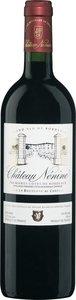 Château Nénine 2011, Premières Côtes De Bordeaux Bottle