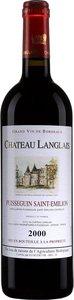 Château Langlais 2000, Ac Puisseguin Saint émilion Bottle