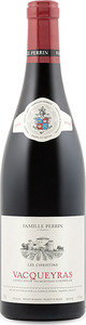 Famille Perrin Les Christins Vacqueyras 2013, Ac Bottle
