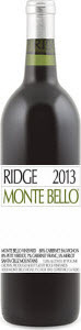 Ridge Vineyards Monte Bello 2013, Santa Cruz Mountains Bottle