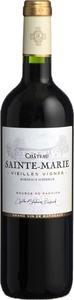 Chateau Sainte Marie Vieilles Vignes 2015, Bordeaux Superieur Bottle