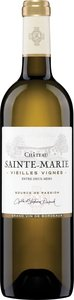 Château Sainte Marie Vieilles Vignes Entre Deux Mers 2015, Ac Bottle