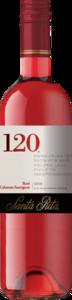 Santa Rita 120 Rose Cabernet Sauvignon 2015 Bottle