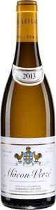 Domaine Leflaive Mâcon Verzé 2014 Bottle