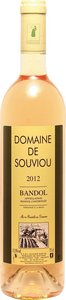 Domaine De Souviou Bandol Rosé 2014 Bottle