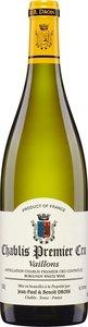 Domaine Jean Paul Et Benoit Droin Chablis Premier Cru Vaillons 2014 Bottle