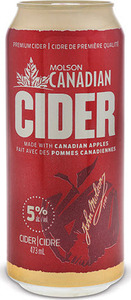 Molson Canadian Cider (473ml) Bottle