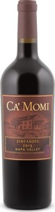 Ca' Momi Zinfandel 2014, Napa Valley Bottle